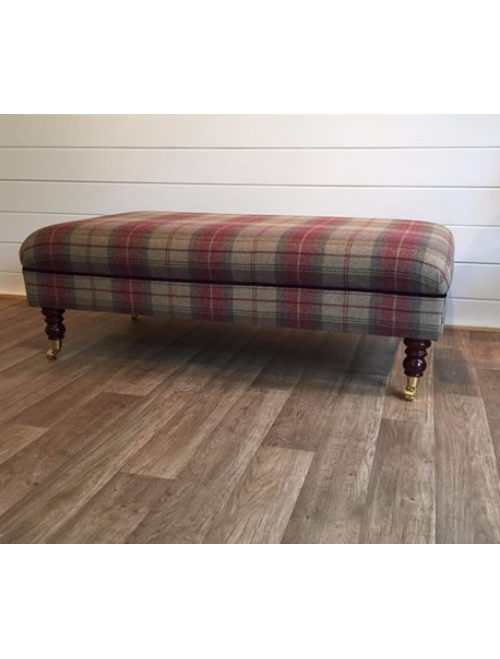 Bespoke Large Footstool - Furniture By Jed